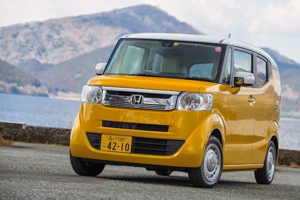Honda N-BOX Japan 2015. Picture response.jp