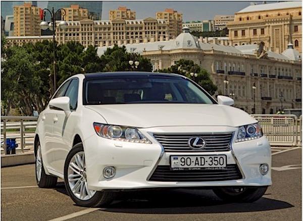 Lexus ES Azerbaijan 2015