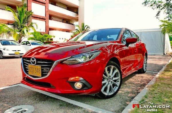 Mazda 3 Colombia 2015. Picture courtesy f1latam.com:autos