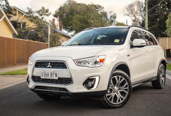 Mitsubishi ASX Australia December 2015. Picture courtesy caradvice.com.au