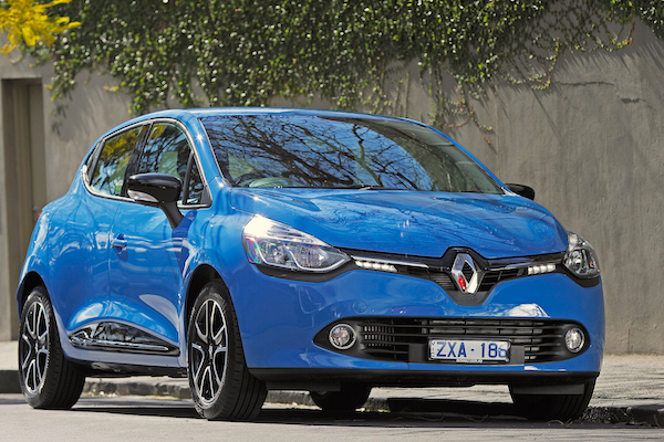 Renault Clio Slovenia May 2016