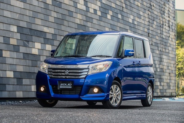 Suzuki Solio Japan December 2015. Picture courtesy response.jp