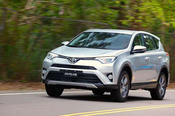 Toyota RAV4 Bosnia November 2016. Picture courtesy u-car.com.tw