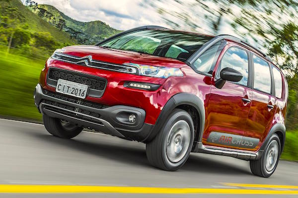 Citroen Aircross Brazil January 2016