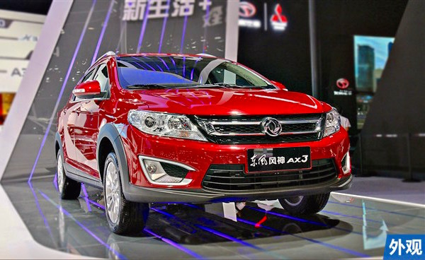 Dongfeng Fengshan AX3 China January 2016. Picture courtesy chexun.net
