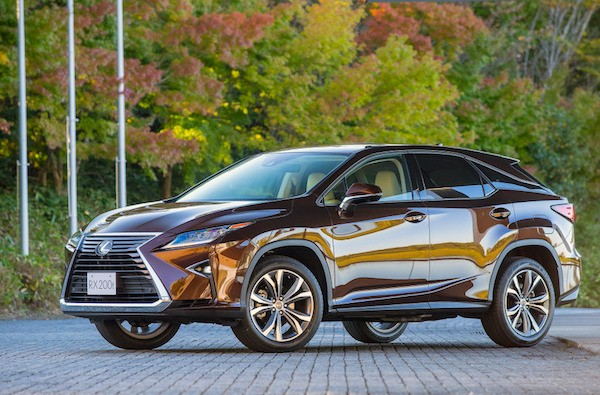 Lexus RX Taiwan March 2016. Picture courtesy response.jp