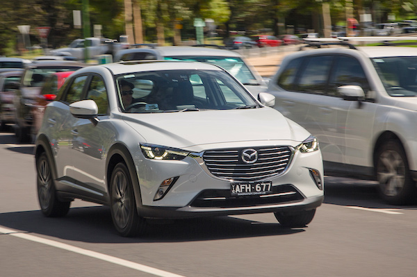 Mazda CX-3 Australia January 2016. Picture courtesy caradvice.com.au