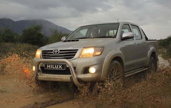 Toyota Hilux Namibia 2015. Picture courtesy carmag.co.za
