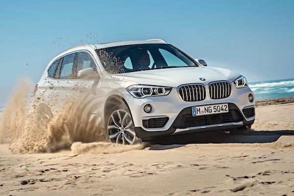 BMW X1 Europe July 2016