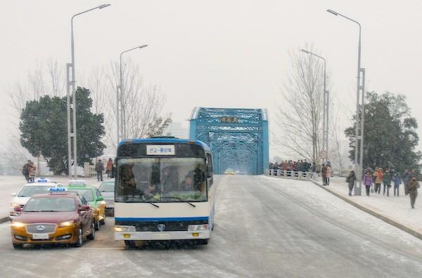 Hawtai Lusheng E70 Pyongyang