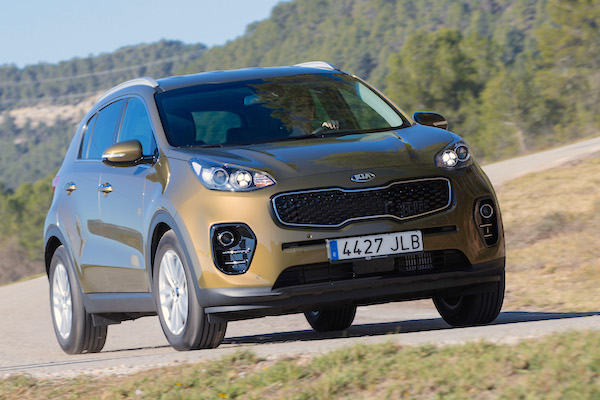 Kia Sportage Sweden February 2016