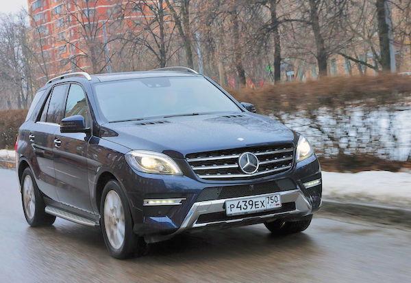 Mercedes GLC Russia January 2016. Picture courtesy zr.ru