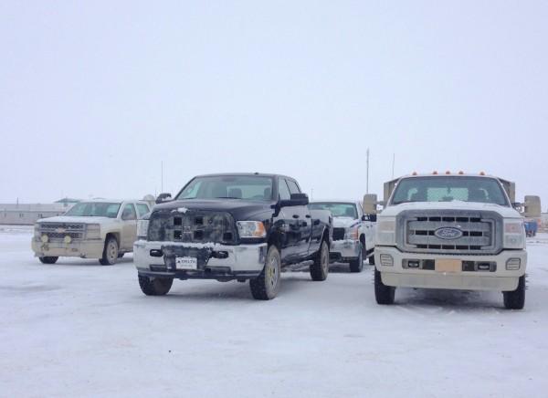 Prudhoe Bay pickups