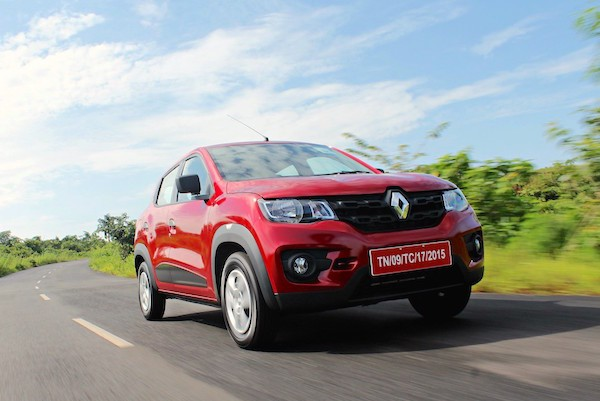 Renault Kwid India 2016. Picture courtesy motoroids.com