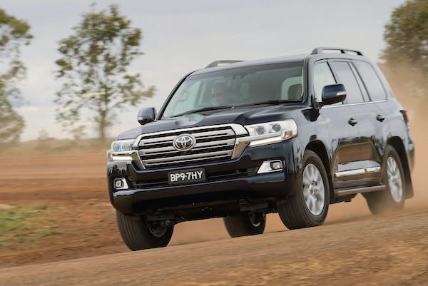 Toyota Land Cruiser Australia 2015