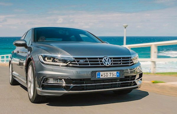 VW Passat Germany February 2016. Picture courtesy wheelsmag.com.au