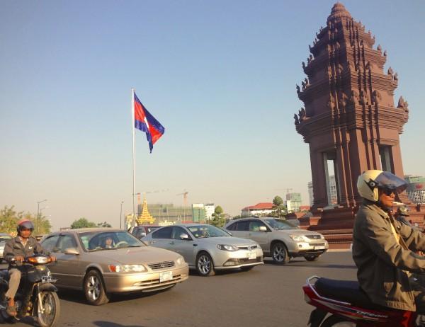 11. Phnom Penh street scene