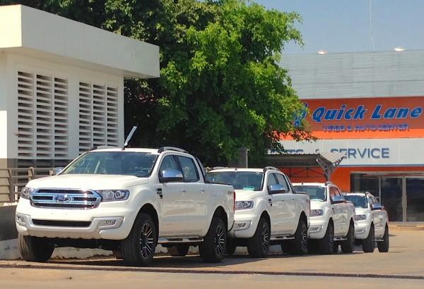 2. Ford Ranger Phnom Penh