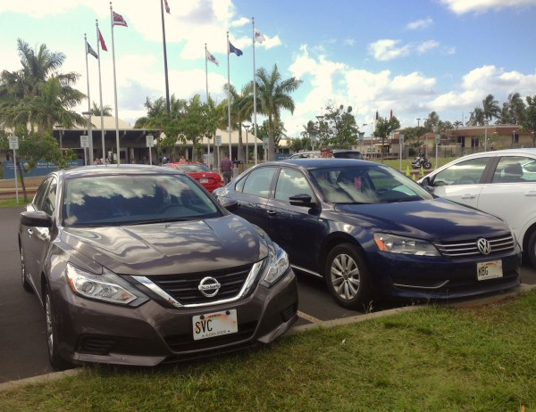 2. Nissan Altima Pearl Harbor