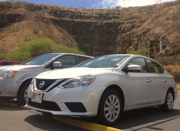 4. Nissan Sentra Diamond Head