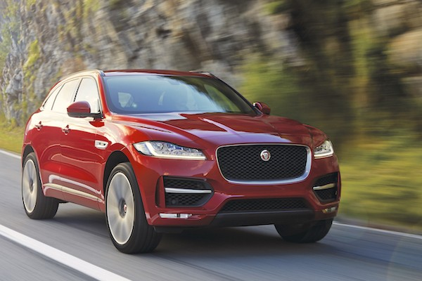 Jaguar F-Pace Spain April 2016