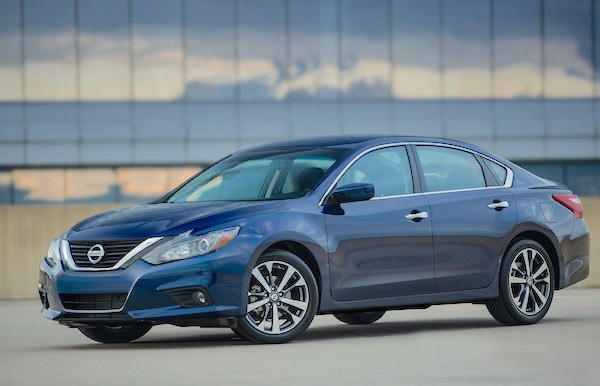 Nissan Altima USA March 2016