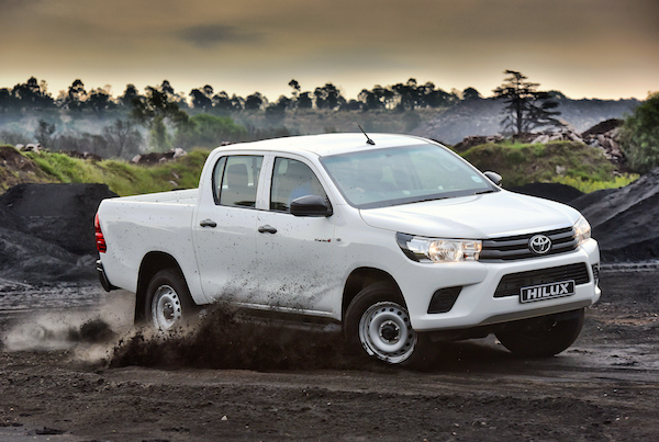 Toyota Hilux South Africa March 2016