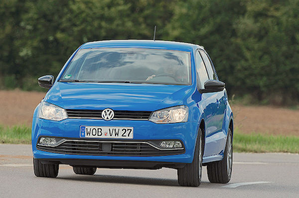 VW Polo Germany March 2016. Picture courtesy autobild.de
