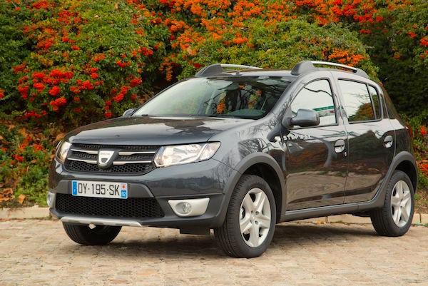 Dacia Sandero France April 2016. Picture courtesy largus.fr