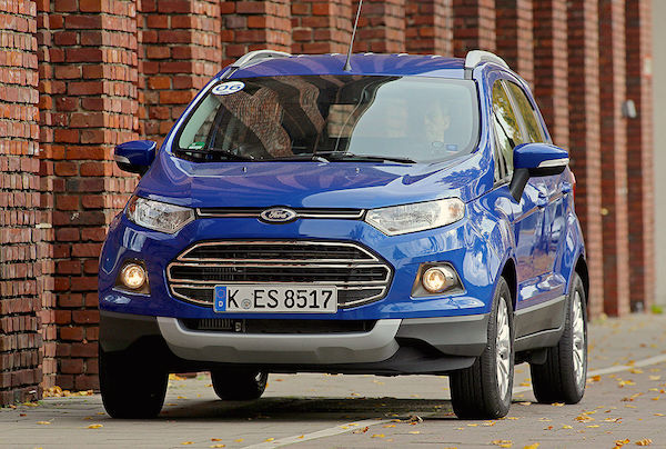 Ford Ecosport Vietnam September 2016. Picture courtesy autobild.de