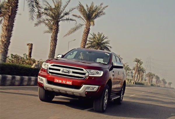 Ford Endeavour India 2016. Picture courtesy motortrend.in