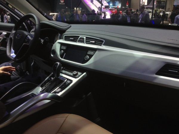 Geely Boyue interior Pic1