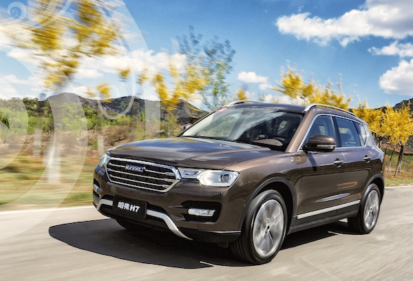 Haval H7 China April 2016. Picture courtesy autohome.com.cn