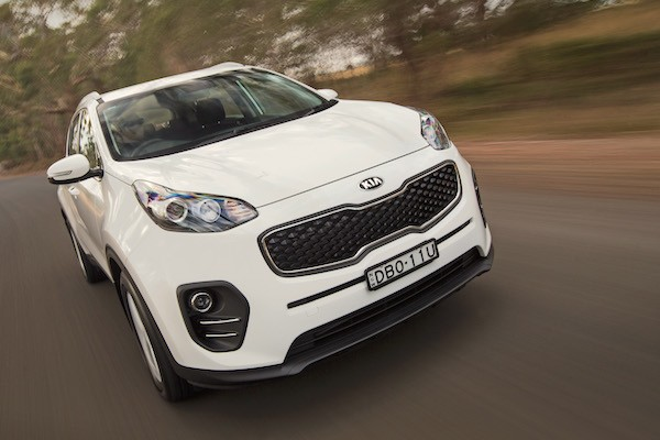 Kia Sportage Iraq July 2016