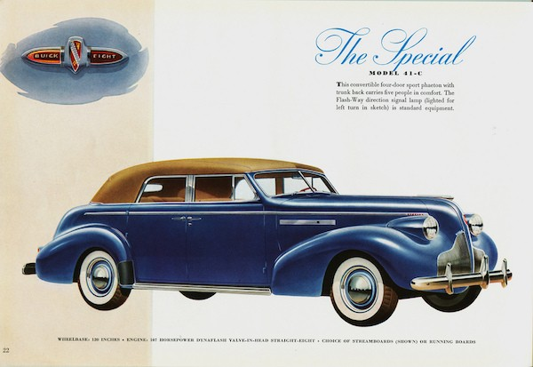 1939 Buick Special Model 41-C