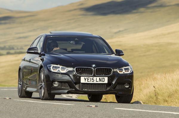 BMW 3 Series UK May 2016