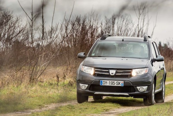 Dacia Sandero France May 2016. Picture courtesy largus.fr