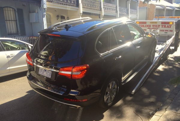 Haval H8 Arrival