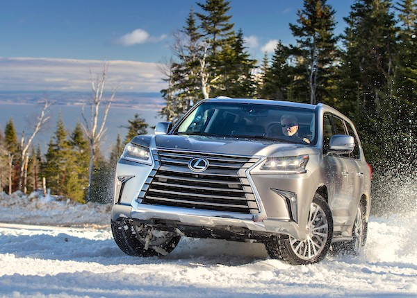 Lexus LX Russia May 2016