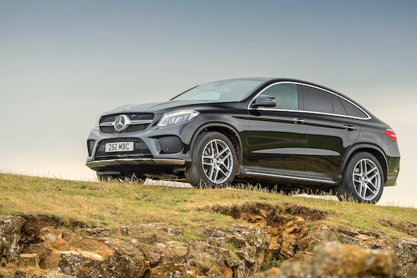 Mercedes GLE Coupe Italy July 2016