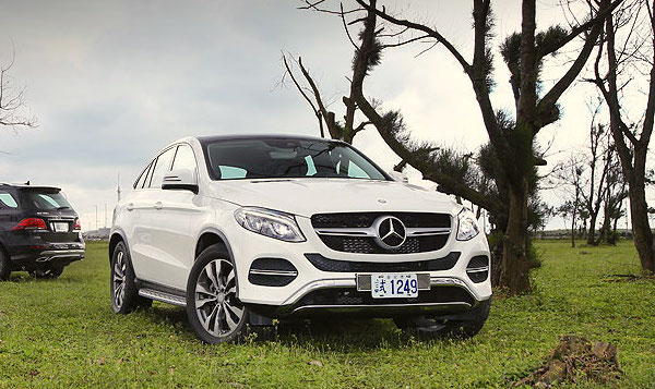 Mercedes GLE Taiwan May 2016. Picture courtesy u-car.com.tw