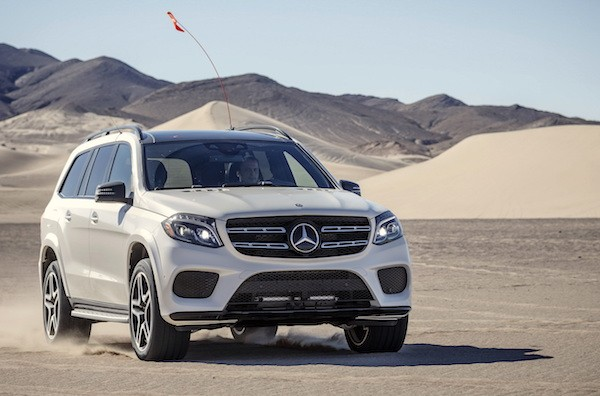 Mercedes GLS Russia May 2016
