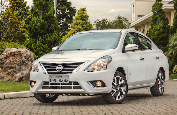 Nissan Versa Mexico 2016. Picture courtesy carros.ig.com.br