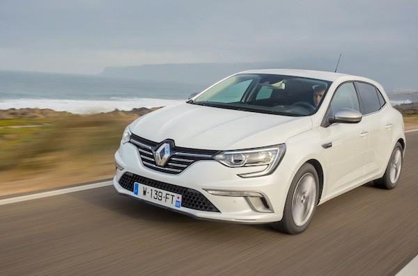 Renault Megane Portugal October 2016. Picture courtesy largus.f