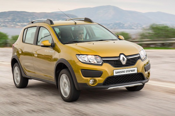 Renault Sandero Belarus March 2016. Picture courtesy autokatalog.by