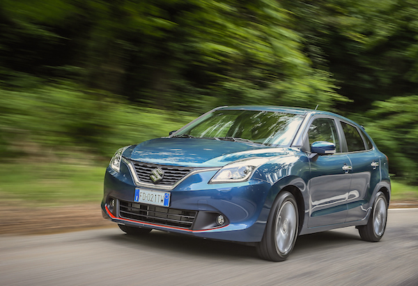 Suzuki Baleno Chile September 2016