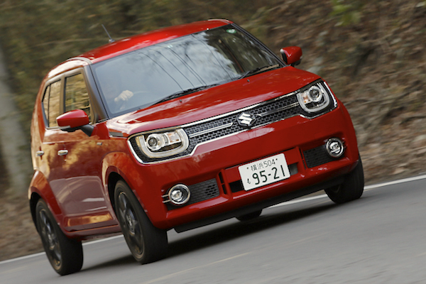 Suzuki Ignis Japan May 2016. Picture courtesy autoc-one.jp