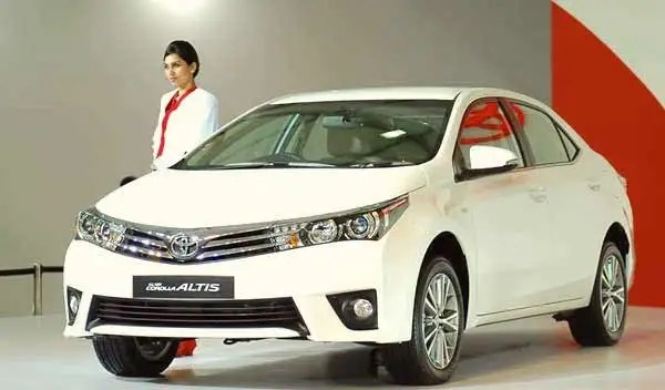 Toyota Corolla Pakistan May 2016. Picture courtesy ndtv