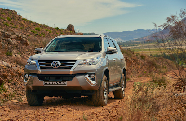 Toyota Fortuner South Africa May 2016