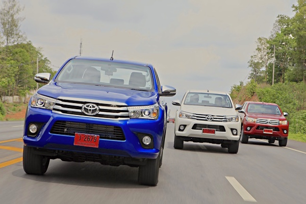 Toyota Hilux Revo Thailand 2016. Picture courtesy caronline.net